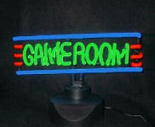 14 x 8 Neon Game Room Sign