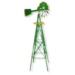 8 Foot Green Windmill - Wholesale - FREE Shipping