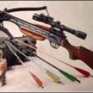 Metal Stock 150lb Crossbow - FREE Shipping