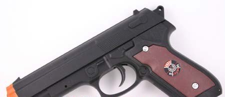 Qty 2 - 7 1.2in Air Soft Sport Pistol - FREE Shipping