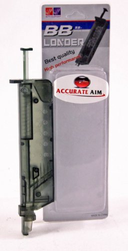 6mm BB Speed Loader:Holds 100+ BB Pellets - Free Ship