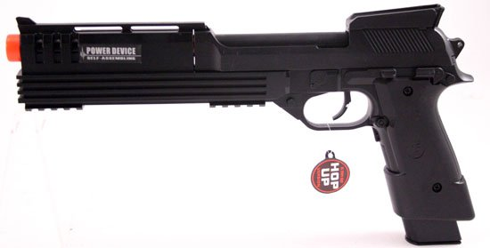 13in Auto Electric Air Soft Pistol w Hop-UP