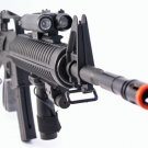 AS118  M16-A3 Air Soft Rifle Gun:Laser Site:Flashlight