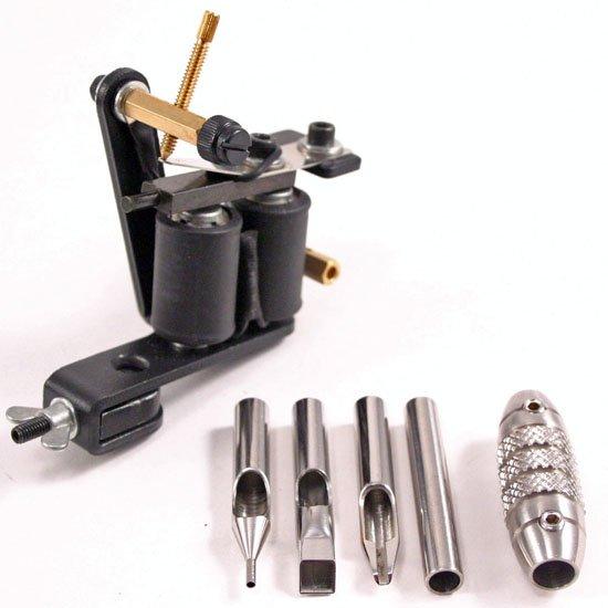 Professional Tattoo Gun w/Accessories & Hard Case - NEW
