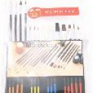 Qty2: 15pc Artist Paint Brush Set