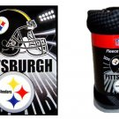 "50"" x 60"" Pittsburgh Steelers Fleece Blanket"