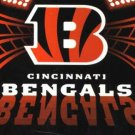 "50"" x 60"" Cincinnati Bengals Fleece Blanket"