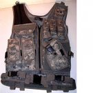 ACU Digital Camo Tactical Vest