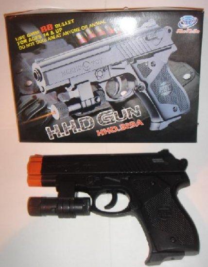 """6"""" Airsoft Handgun W/Laser ONE WEEK SPECIAL"""