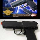 Black Slide Action UHC UG-161 GAS Airsoft Gun