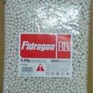 4000 Fidragon SEAMLESS Airsoft .20g BBs