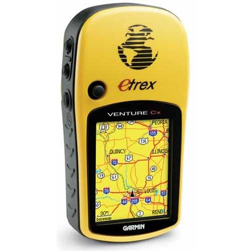 Garmin E Trex Venture Cx GPS Receiver with Micro SD Expansion