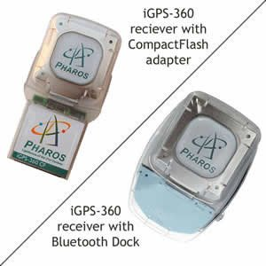 The Pharos Pocket GPS Navigator with Bluetooth Wireless Technology (Plus CF Adaptor & Power Pack)