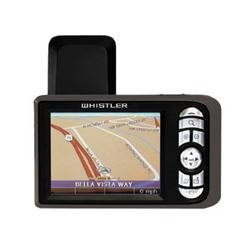 Whistler WGPX-550 GPS Color Touch Screen Receiver