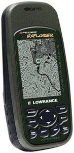 Lowrance 000-0112-84 iFinder Explorer GPS Receiver