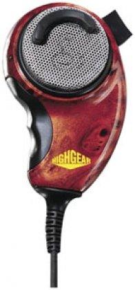 Cobra HGM84W HighGear Wood Grain CB Microphone
