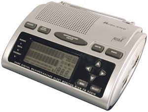 Midland WR-300 Deluxe S.A.M.E. Weatheralert All-hazard Radio With AM/FM