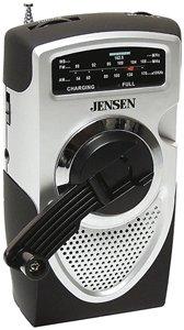 Jensen MR550 Portable Self-Powered AM/FM Weather Radio