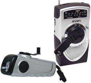 Jensen MR-550-DF Self-Powered AM/FM Public Alert Radio