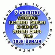 START YOUR OWN WEB SITE STORE....NEW