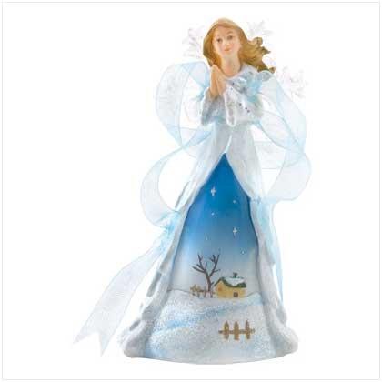 Snowy Angel Figurine