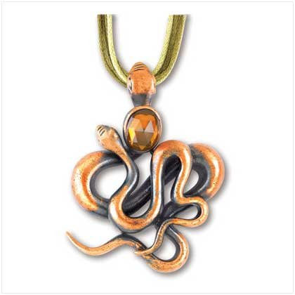Abstract Serpentine Pendant