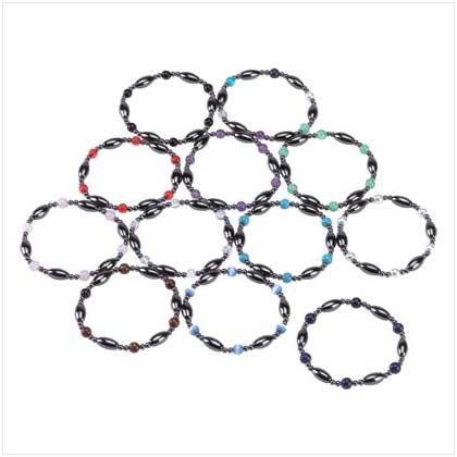 1 DZ Hematite Magnetic Bracelet
