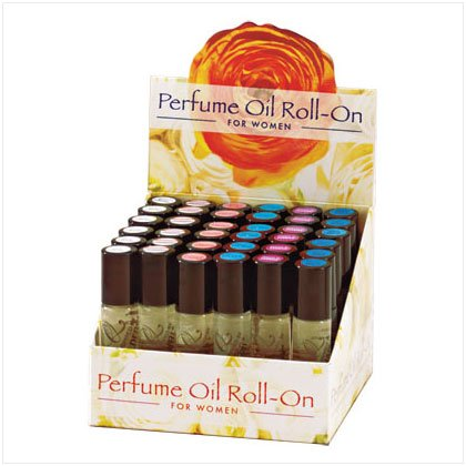 PERFUME OIL ROLL ON DISPLAY (3 Dozen)