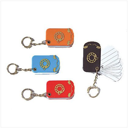 TEL/ADDRESS KEYRING - 3 Dozen