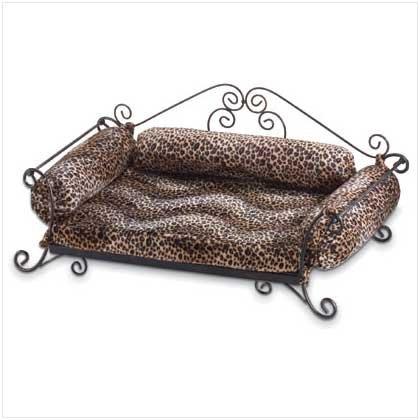 Safari Cushion/Metal Pet Bed