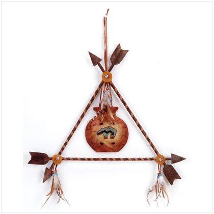 Bear Pot Triangle Arrows Frame