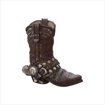 ANTIQUE COWBOY BOOT