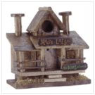 MOOSE LODGE WOOD BIRDHOUSE
