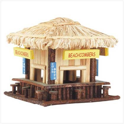 Wood Beachcomber's Birdhouse