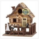 WOOD YACHT CLUB BIRDHOUSE