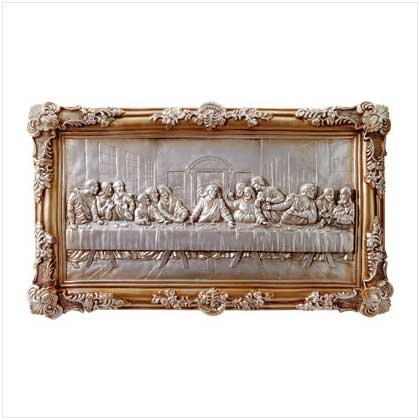 ALAB. LAST SUPPER WALL PLAQUE