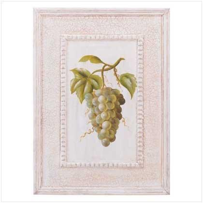 Grapes Printed Wall Art Frame