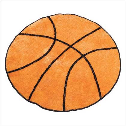 Basketball Rug - 30 inch Diameter