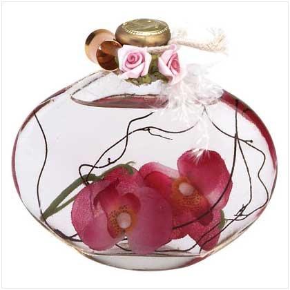 Orchids Oil Lamp Bottle