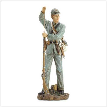 Confederate Soldier Figure - 21 Inches tall