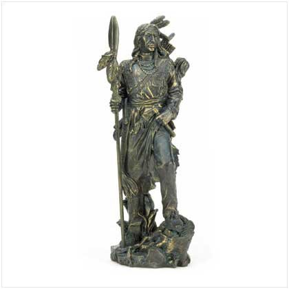 Antique Liberty Bronze Warrior