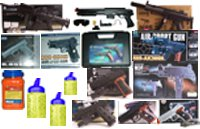 Airsoft Spring Powered Sample Pack