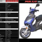 """The """"Maui"""" 50cc Scooter By Roketa (Up to 29mph)  FREE SHIPPING"""