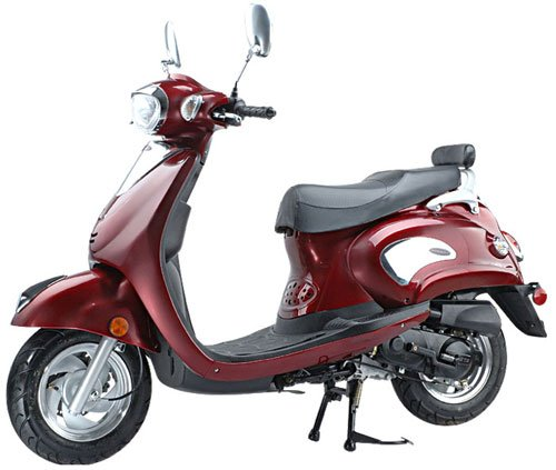 "The ""Sicily"" 50cc Scooter By Roketa (Up to 29mph)"