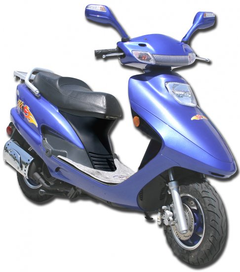 The 'Aruba' 150cc 4-Stroke Scooter (Up to 48mph)  FREE SHIPPING