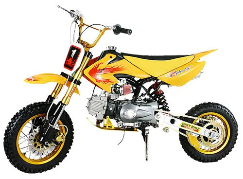 125cc - 4 Stroke Dirt Bike - Up to 43 MPH