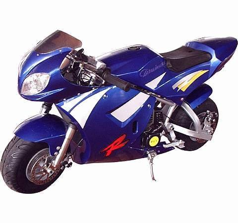49cc - 2 Stroke Super Bike - Up to 24 MPH