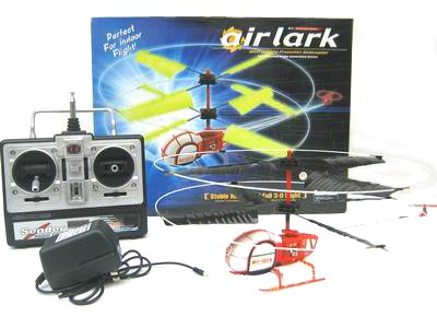Case of 4 - Air Lark Double Propeller RC Helicopter
