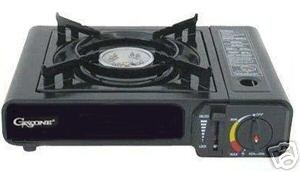 Case of 6 - Portable Gas Stoves w/ Carrying Case