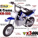 XM-500 Electric Dirt Bike (500 Watts - 3 Batteries - 36 Volts)